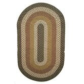 Green Mountain Log Cabin Brown Multi rug
