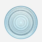 "DO NOT SET LIVE!10.5"" Kastehelmi Dewdrop Plate in Light Blue"