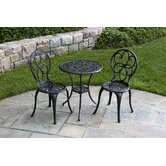 Fleur de Lis Bistro Set