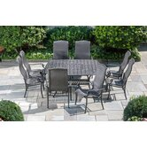 Hemingway 9 Piece Square Dining Set