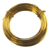 50' 20 Gauge Brass Hobby Wire 50151