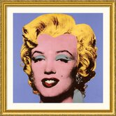 Shot Blue Marilyn, 1964 Gold Framed Print  - Andy Warhol