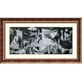 Guernica Bronze Framed Print - Pablo Picasso