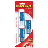 Hi-Polymer Eraser (Pack of 3)