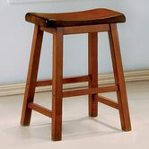 Aloha 24&quot; Stool in Oak