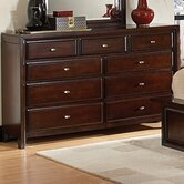 Michal 9 Drawer Dresser