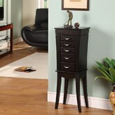 London Five Drawer Jewelry Armoire