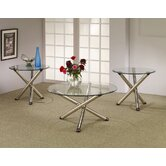 Dixie 3 Piece Coffee Table Set