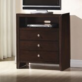 Detroit 3 Drawer Media Chest