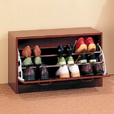 Cherry Oro Valley Single Shoe Cabinet