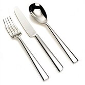 Asta Flatware Collection in Mirror Polished by Alessandro Mendini