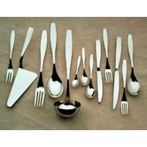 Duna Flatware Collection in Mirror Polished by Marco Zanuso
