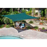 Premium 11'10&quot; Square Shade Sail Kit