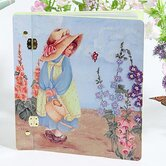 Home and Garden Afternoon Watering Large Book Photo Album