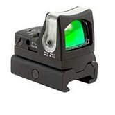 Ruggedized Miniature Dual Illuminated Reflex Sight with Weaver