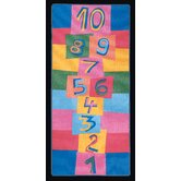 Hip Hop Hopscotch Kids Rug