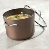 Contemporary Nonstick Anodized Edition 8-qt. Stockpot with Lid