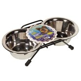 Dogit Stainless Steel Double Dog Diner