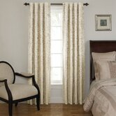 Room Darkening Backtab Window Panel Set in Ivory