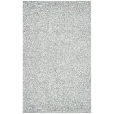 Pelle Short Leather White Rug