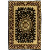 Traditions Jain Black Rug