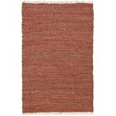 Matador Copper Leather/Hemp Rug