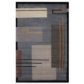 American Home Metro Grey/Black Rug