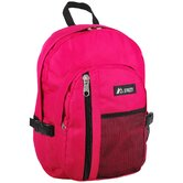 16.5&quot; Backpack with Front Mesh Pocket