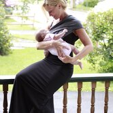 Baby Bond Couture Nursing Cover in Barcelona Charcoal