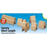 Variety Short Length Building Set (100 Pieces)
