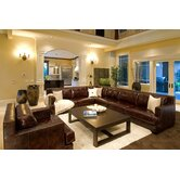 Easton Leather Sectional