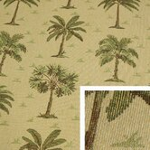 Desert Palm Square Pillow