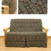 Navajo 5 Piece Full Skirted Futon Cover Set