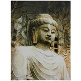 Gautama Buddha Statue Canvas Wall Art
