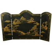 Oriental Furniture Fireplace Accessories