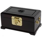 Jewelry Box in Dark Rosewood