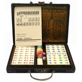 Antique Style Mahjong Set