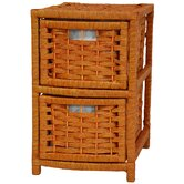 17&quot; Natural Fiber Occasional Chest
