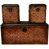 Olde-Worlde European Storage Box (Set of 3)