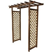 Japanese Bamboo Garden Gate Trellis