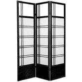 Kumo Classic Shoji Room Divider in Black