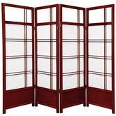 Low Kumo Classic Shoji Room Divider in Rosewood