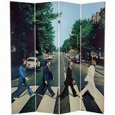 Tall Double Sided The Beatles Abbey Road Canvas Room Divider