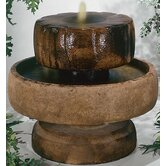 Centerpiece Cast Stone Little Millstone Cascade Fountain