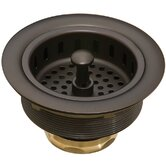 "3.5"" Basket Strainer in Oil-Rubbed Bronze"