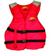 Deluxe Life Large Adult Vest in Red / Grey
