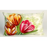 Tulips Rectangle Indoor/Outdoor Pillow in Warm