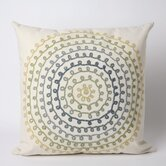 Ombre Threads Square Indoor/Outdoor Pillow in Cool