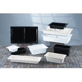Gastronorms 1/6 GN Food Pan in Black