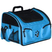 Ultimate Traveler 3-in-1 Pet Carrier in Ocean Blue
